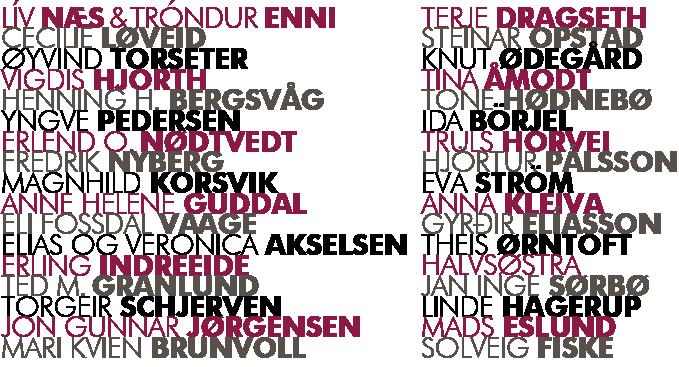 Poetene som kommer til Nordisk samtidspoesifestival | Rolf Jacobsen-dagene 2015